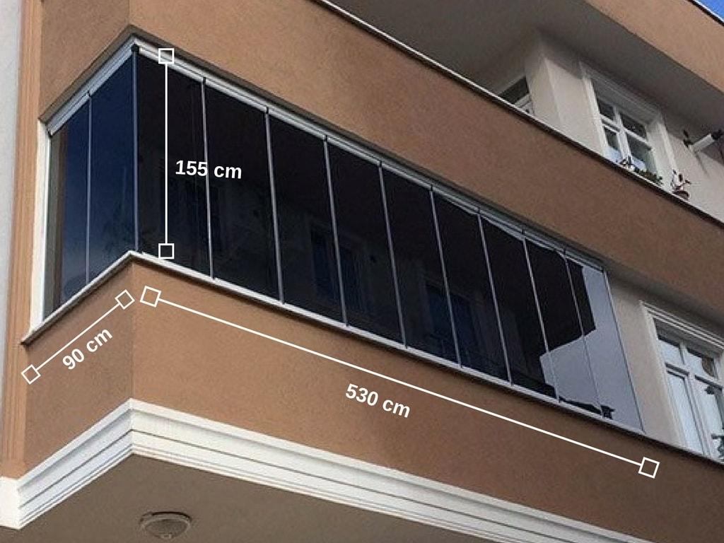 sancaktepe cam balkon fiyatları