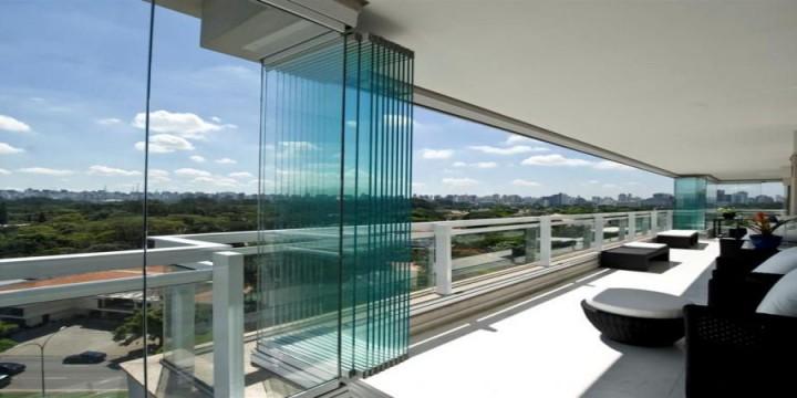 Ankara Çayyolu cam balkon sistemleri